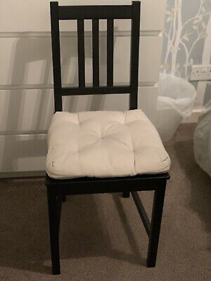 Ikea Stefan Dining Chair With Seat Pad • 7.50£