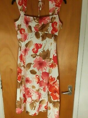 Women Ladies Dress, Tuchuzy, Size 14, Sleeveless, Side Zip • 4£