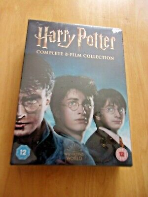 $ CDN94.66 • Buy Harry Potter - Complete 8-film Collection , 16-DVD  Box Set , New & Sealed