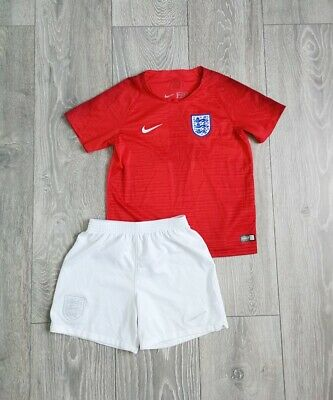 Nike England Boys Football Kit Sport Summer Spring Outfit Set Shorts Top 5-6 Y • 2.20£