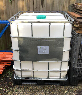 IBC Water Tank. 1000 Litre IBC Container. Water Storage Free Local Delivery • 75£