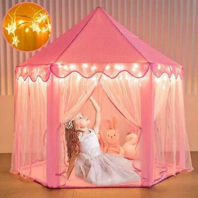 Princess Tent For Girls, Kids Play Tents Toys For Toddler, Fairy Castle • 49.17£