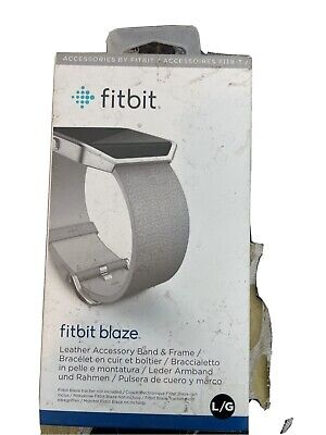 $ CDN18.23 • Buy NEW Fitbit Blaze Leather Band Size Small Grey Gray OEM FREE Shipping