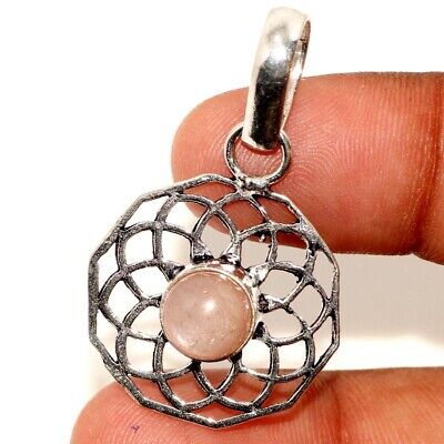$ CDN4.94 • Buy Natural Sunstone 925 Sterling Silver Plated Pendant 1.5  M0116