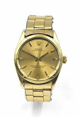 AU2518.73 • Buy VINTAGE ROLEX 1024 OYSTER PERPETUAL WRISTWATCH GOLD SHELL CASE STAINLESS C1966