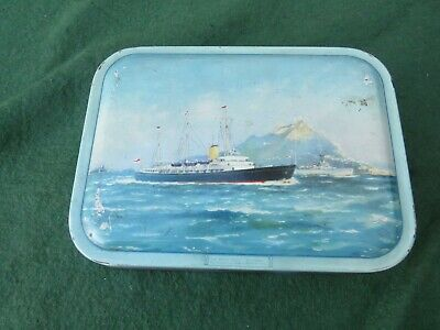 Vintage Milady Sweet Tin With Hmy Britannia On The Front (no Contents)    • 9.99£