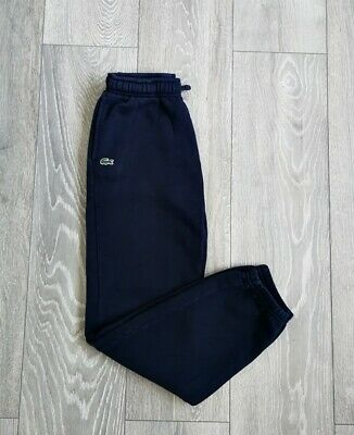 Lacoste Boys Navy Blue Tracksuit Joggers Trousers Bottoms Age 11-12 Y / 12 Y • 0.01£