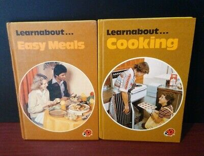 2 Ladybird Learnabout Books. Learnabout Cooking And Learnabout Easy Meals.  • 2.50£