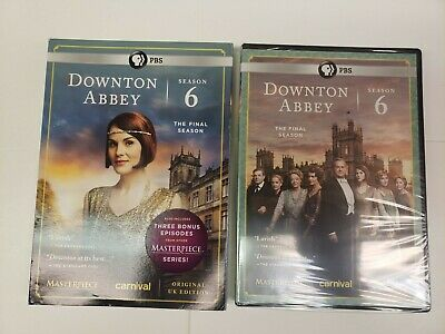 Masterpiece: Downton Abbey Season 6 (DVD, 2016) With Slipcover- Brand New Sealed • 17.65£