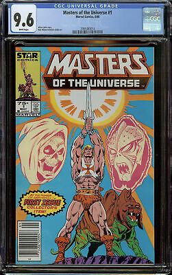 $175 • Buy Masters Of The Universe MTU He-Man #1 Newsstand Copy CGC 9.6 White Pages