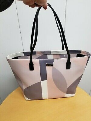 $ CDN29.74 • Buy Kate Spade Pink Champagne Large Tote Bag Purse Shoulder