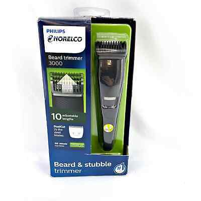 AU50.25 • Buy Philips Norelco BT3210/41 Beard And Stubble Trimmer - Black