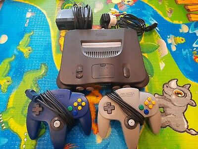 AU100 • Buy Nintendo 64 Console And Controllers