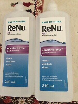 Bausch And Lomb Renu Solution 2x240ml • 9.99£
