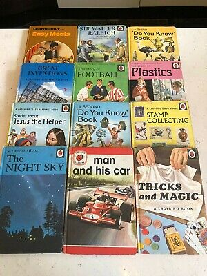 12 Vintage Ladybird Books, 1950s, 60s & 70s, All 1st Editions • 26£
