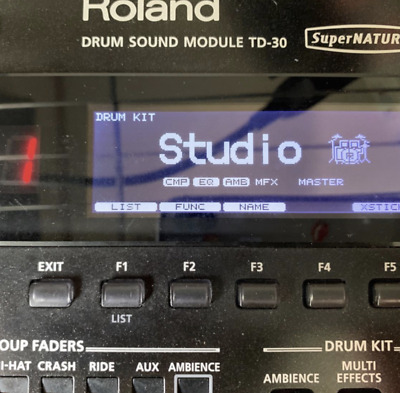 AU1692.06 • Buy Roland TD 30 Electronic Drum Sound Module V-Drums USB Midi AC 100V  USED