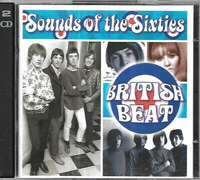Time Life - Sound Of The Sixties - British Beat - 2 CD Set • 9£