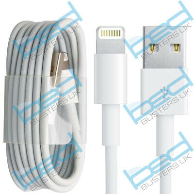 USB Charger & Data Sync Cable Lead Wire For IPhone 12,11 ,X,XS,SE,6,7,8 Max SE • 1.55£