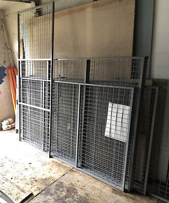Welded Wire Mesh Panels Anti Collapse Mesh For Pallet Racking Various Sizes • 12£