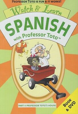 £26.97 • Buy Watch And Learn Spanish With Professor Toto - Part 2 : Professor Toto's House