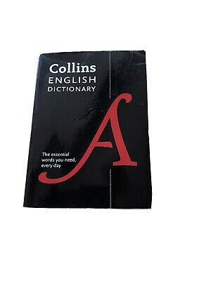 £1.49 • Buy Collins English Dictionary By Collins (Paperback), Books, Brand New A6