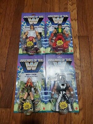 $124 • Buy WWE MOTU Masters Of The Universe Wave 5 Complete Set Of 4 Macho Man, The Dragon
