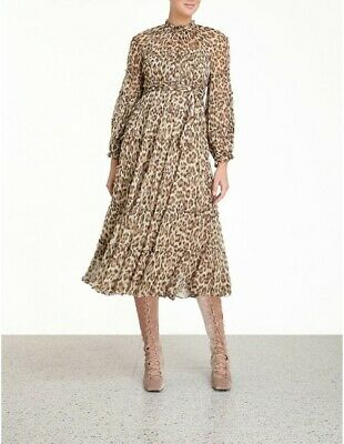 AU250 • Buy Zimmermann Ladybeetle Tiered Midi, S0 Animal Print