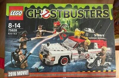 Lego Ghostbusters 75828 Ecto-1 & 2 2016 Movie New In Box • 25£