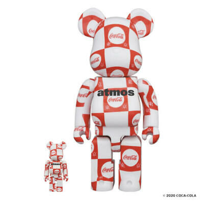 $289 • Buy Medicom Toy BE@RBRICK Atmos × Coca-Cola 100% & 400% Bearbrick