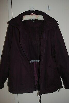 Womens Peter Storm Purple/plum Jacket,size 16,worn Once • 8£