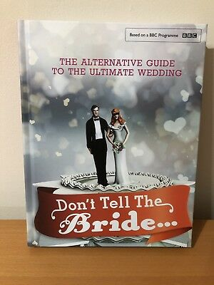 Dont Tell The Bride Hard Back Book • 2.99£