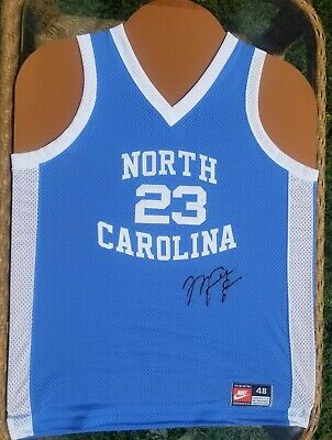 AU2970.81 • Buy Michael Jordan Signed University Of North Carolina *nike Autographed Jersey *exc