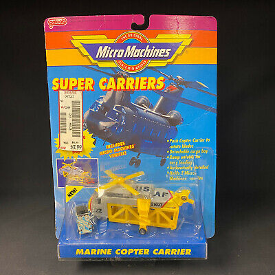 £42.48 • Buy Micro Machines Super Carriers Marine Copter Carrier NEW OLD STOCK SEALED SHARP!