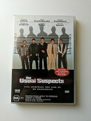 AU4.99 • Buy The Usual Suspects, DVD, Kevin Spacey, Bryan Singer