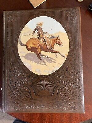 The Old West Time Life Books  THE COWBOYS Leatherette Bound Exc Condition HB  • 4£