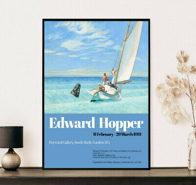 £14.99 • Buy Edward Hopper Ground Swell Exhibition Poster, Vintage Gift, Wall Art Decor Print