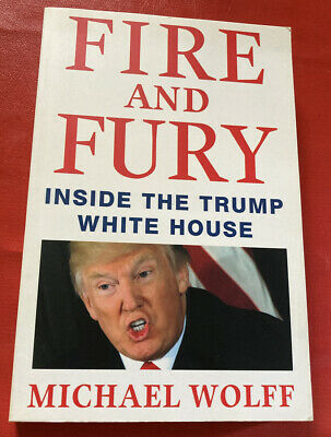 AU1.27 • Buy Fire And Fury: Inside The Trump White House By Wolff. Softcover Eastern Edition