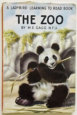 The Zoo - Ladybird Series 563 Learning To Read Book With D/J • 7.99£