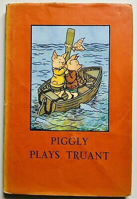 Piggly Plays Truant - Ladybird Series 401 Animal Rhymes Book With D/J • 8.99£