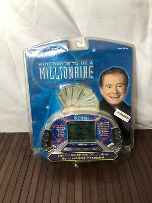 £12.36 • Buy Who Wants To Be A Millionaire Handheld Electronic Game Tiger 2000 New Sealed