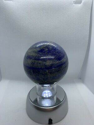 Lapis Lazuli Crystal Ball Divination Scrying 80mm 838g Sphere • 45£