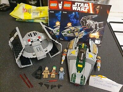 Lego Star Wars 75150 Vader's Tie Advance Vs A-wing Complete With Instructions • 70£