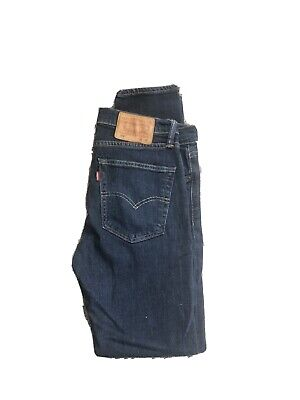 Levis 519 Extreme Skinny 32/32 Dark Jeans Blue • 30£