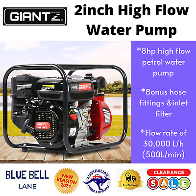 AU227.45 • Buy Fire Fighting Water Transfer Pump Firefighter High Fighter Petrol Irrigation 8hp