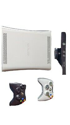 AU69 • Buy Microsoft Xbox 360 White Console With Controllers, Kinnect And Games
