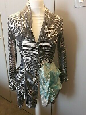Size 8 Shirt Dress - Ringspun Rouched - Reluctant Sale - Gorgeous Item  • 1.10£