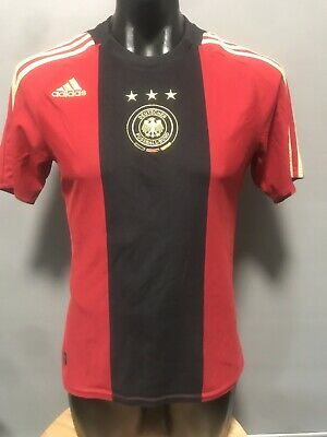 MEDIUM Adidas Germany Retro 2008 Away Football Jersey Camiseta Maillot Trikot • 17.44£