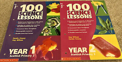 Primary Teacher 100 Science Lesson Textbooks Year 1 & Year 2 Resources VGC • 1.99£