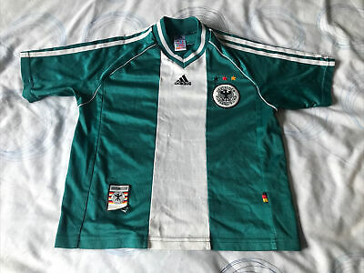 Retro Germany Football Shirt Away Size Large Boys Please Read Description • 20£