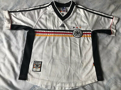 Retro Germany Home Shirt Size LB Please Read Description • 20£